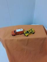 Transformer Toy Vehicles 2012 Hasbro for McDonalds Bumblebee and Orange van - $5.94