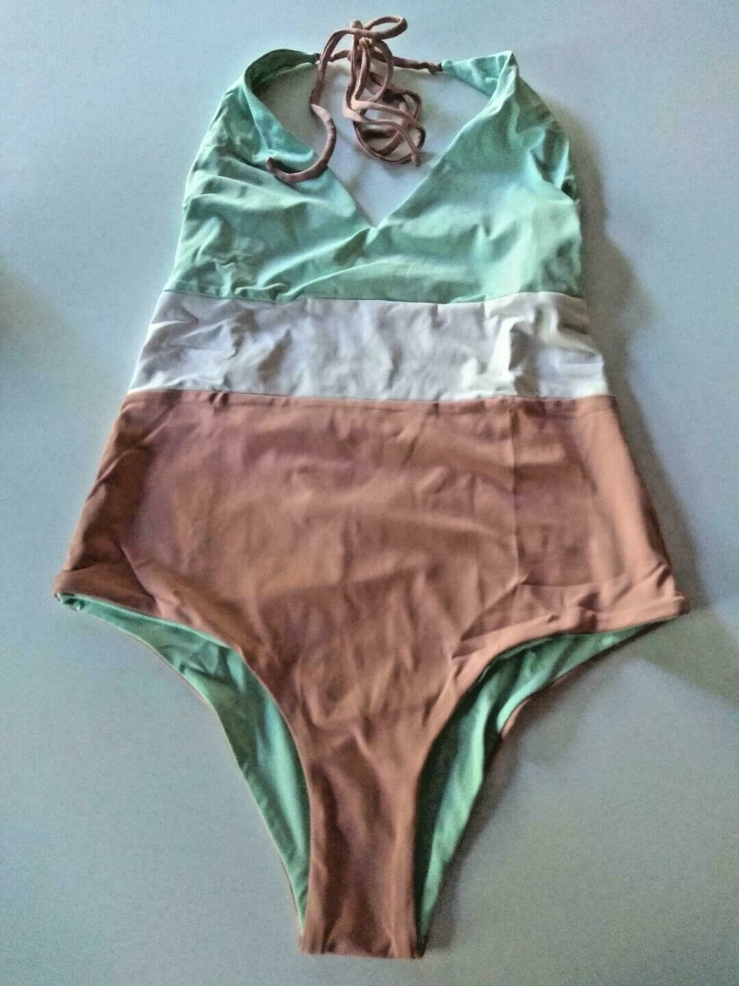 Tavik Rose Dawn Color Blocked Chase One Piece Size Small