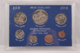 New Zealand Decimal Currency 1970 Introduced July 10th 1967 - $14.95