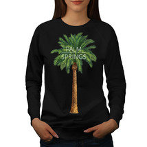 Palm Springs Jumper California Women Sweatshirt - $18.99