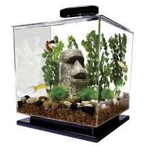 Tetra Cube Aquarium Kit, 3-Gallon Starter Fish Tank LED Light Included  - €73,67 EUR