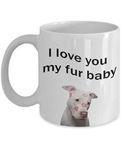 Fur Baby Valentines Day Gift Mug for Dog Lover Girlfriend Coffee Cup - $19.75