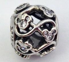 Authentique Pandora Disney Minnie & Mickey Infini 925 Charm Argenté 7914... - $50.85