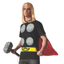 Thor Costume T-Shirt with Cape  - $34.98