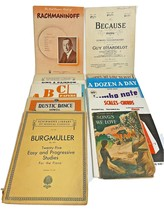 Lot of 12 Vintage Various Sheet Music and Music Books Dating 1919 to 1955 - $21.51