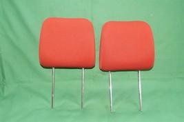 10-13 Kia Soul Front Cloth 2 Headrests Headrest Set RED