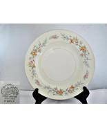 Homer Laughlin Pink & Yellow Roses Vintage 1952 Dinner Plate - $10.62