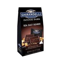 Ghirardelli Chocolate Intense Dark Squares, Sea Salt Soiree, 4.12 oz pack of 6. - $52.70
