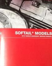 2010 Harley Davidson Softail Souple Tails Modèles Service Shop Manuel Set W Lots - $297.12