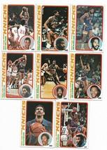 1978-79 Topps New York Knicks Team Set  - $7.40