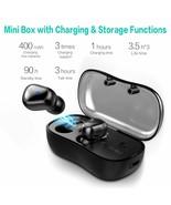 Bluetooth V5.0 TWS Earphone Wireless Stereo Earbud Waterproof Headset fo... - $44.50