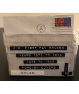 U.S.FDC/1973 To 1974 / 327 Covers + 150 Foreign Covers / $453.79 Value - $46.75