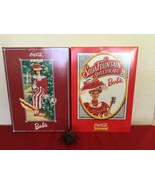 Coca Cola After the Walk And Soda Fountain Sweetheart Lot Of 2 Barbie Dolls - $60.00