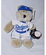 Starbucks MLB Baseball LA Dodgers Bearista Bear Plush Stuffed Animal 1st... - $22.65