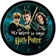 "EXCLUSIVE! Harry Potter & Friends 8"" Unique Homemade Wall Clock w/ Batte... - $23.97"