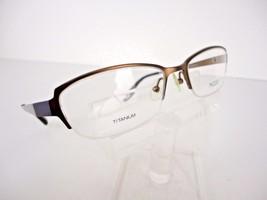 MODO TITANIUM Mod. 4014 (BWN) Brown 52 x 18 140 mm Eyeglass Frames - $24.70
