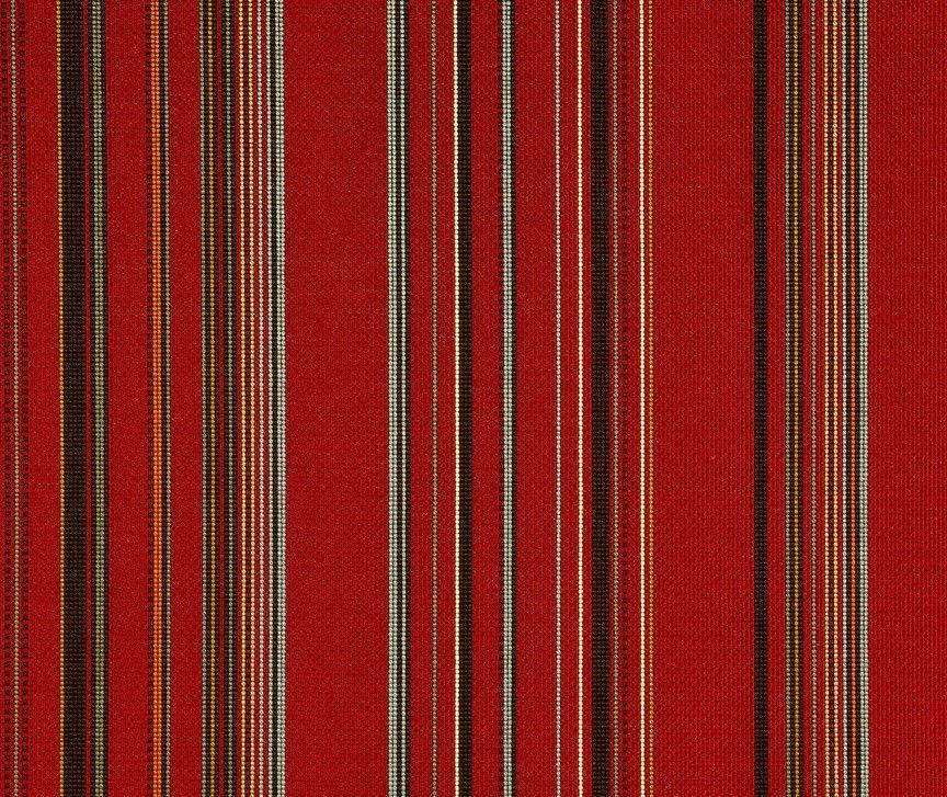 Maharam Upholstery Fabric Point Stripe Crimson 3.125 yds 466090–012 AE