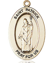 14 Kt Gold St. Patrick Medal with or without Chain - $664.05+