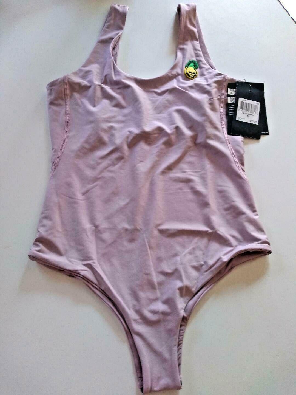 Hurley Q/D Pineapple Swim Suit Size Medium