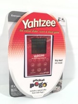 Yahtzee Pocket Pogo electronic Handheld Game New In Package - $24.74
