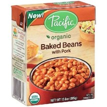 Pacific Natural Foods Bkd Beans W/Pork (12x13.6... - $77.70