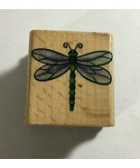 """Dragonfly Rubber Stamp by StampCraft 1.5""""    440D78 - $6.68"""