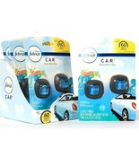 4 Packs Febreze 0.13 Oz Car Gain Honey Berry Hula 2 Ct Air Freshener Ven... - $43.99