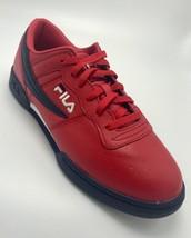 Men's Fila Red Signature Fashion Sneakers  - $69.00