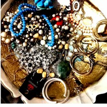 Huge lot of wearable repairable jewelry - $26.73