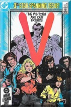 V #1 (1985) *Copper Age / DC Comics / 1st Star Spanning Issue!* - $4.00