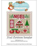 Noel Christmas Sapmler christmas cross stitch c... - $10.00