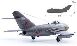 Academy 12566 1:72 MiG-15bis Korean War Air Forces Plamodel Plastic Hobby Model image 5