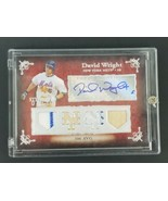2007 Topps Sterling David Wright Autograph Limited Edition 7/10 Game Use... - $121.54