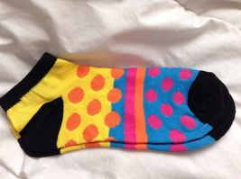 Crazy stretchy colored ankle socks buy more  2 create YOUR mismatched style image 11