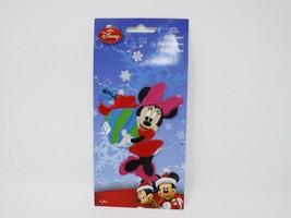 Disney Christmas Minnie Mouse Applique - New - $8.99