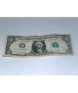 2013 Uno Dollaro Bill US Banca Nota 1 Coperchi 4-5s Paio 14455551 Fancy ... - $14.02