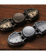 2017 HQ  Metal Two Spinner Fidget Toy Metal EDC Hand Spinner  Autism and... - $15.99