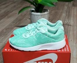 Nike Tanjun Print Womens Size 6 (4.5Y) Running Shoes - $64.34