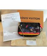 Louis Vuitton Evasion Limited Edition Mini Pochette Monogram Wristlet Fr... - $1,163.25