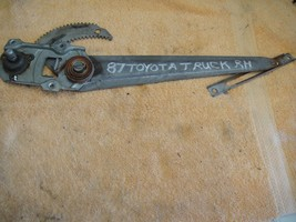 used regulator manual removed from 85-86-87 Toyota truck right/passenger... - $13.95