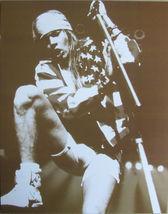 Guns N' Roses Axl Rose WB Vintage 11X14 Sepia Music Memorabilia Photo - $13.95