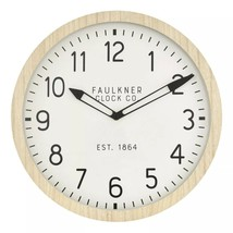 "16"" Wall Clock Wood - Threshold - $34.64"
