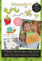 Kimberbell  KD551 Lil Sprout Baby Appliques & Burb Clothes - $29.65