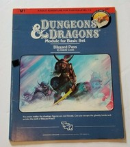 M1 BLIZZARD PASS 1983 Solo Module Dungeons & Dragons 1st Edition - $29.69