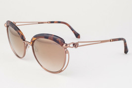 ROBERTO CAVALLI  RC1032 CASOLA 52G Dark Havana / Brown Mirror Sunglasses... - $185.22