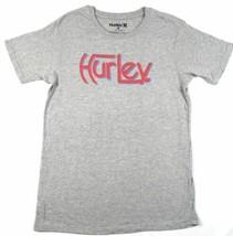 Small Hurley Men's Tee Shirt T-Shirt Short Sleeve Original Premium Push Gray