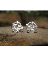 Haunted Seal of Solomon Earrings All Spirits bow to your words - $40.00