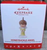 Honeysuckle Angel 2016 Hallmark Member Exclusive MINI Christmas Tree Orn... - $28.00
