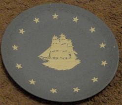 Nice Vintage Wedgwood Jasperware America's Heritage Collectible Plate, VGC - $24.74
