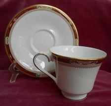 Royal Doulton Sandon Coffee Cup Saucer H5172 Gold Bone China England English - $21.03
